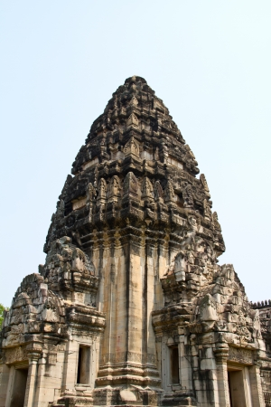 Pimai ancient temple in Nakornratchasima Province, Thailand  photo