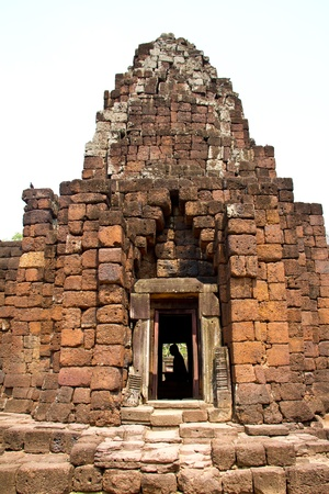 Stone Pimai ancient temple in Nakornratchasima Province, Thailand  photo