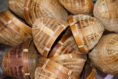 wood sieve thai style photo