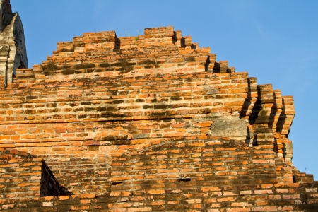 Pharam temple or Wat Praram at Ayuttaya Province, Thailand photo