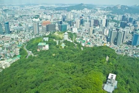 Seoul city, South Korea photo