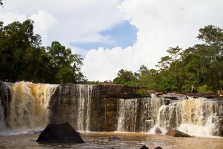 tat: Tat ton waterfall, Thailand