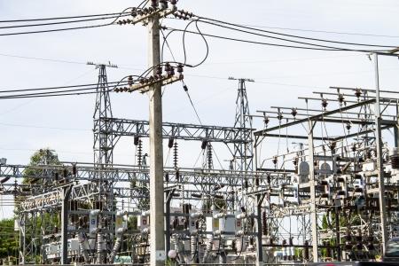 powerhouse: Electric Power station Stock Photo