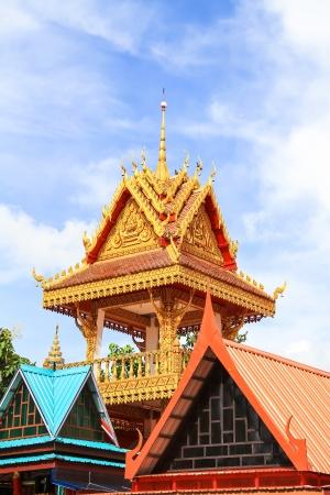 far east: Tailandesa estilo de arte en el templo Foto de archivo