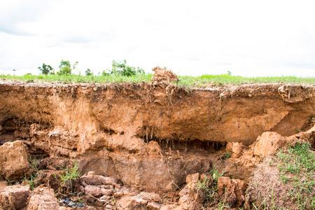 Soil erosion Stock Photo - 22245890