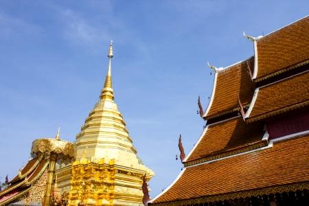 Wat Phra That Doi Suthep, Temple in Chiang Mai, Thailand photo