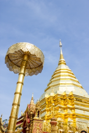 Wat Phra That Doi Suthep, Temple in Chiang Mai, Thailand photo