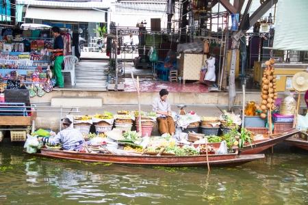 alike: Damnoen Saduak floating market, Ratchaburi,Thailand