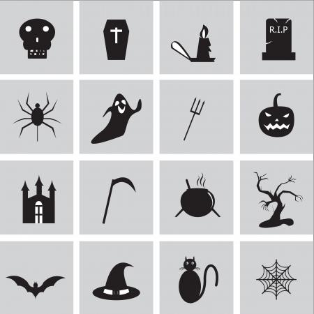 Halloween icon besics