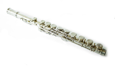 flute key: Flute Stock Photo