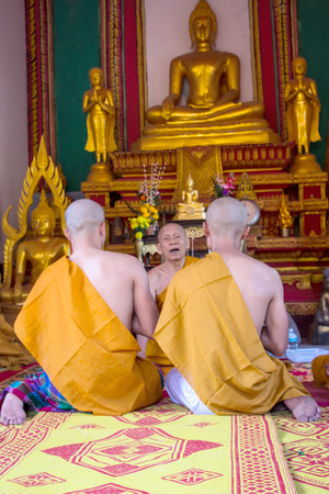 ordain: Clergy Conference in the newly Buddhist ordination ceremony
