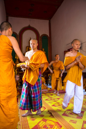 ordination: Clergy Conference in the newly Buddhist ordination ceremony