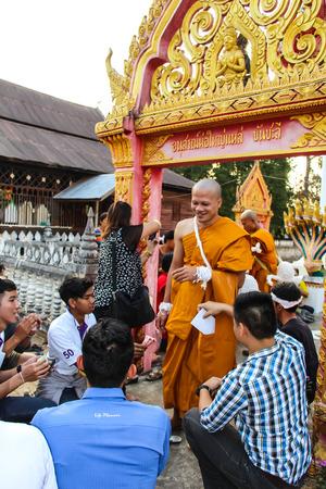 ordination: newly Buddhist ordination ceremony