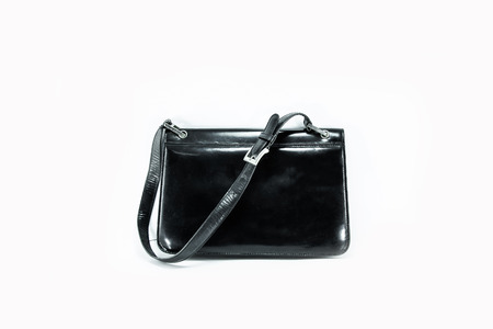 Black wooman hand bag Stock Photo - 29339229