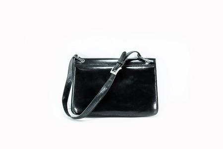 Black wooman hand bag Stock Photo - 29339229
