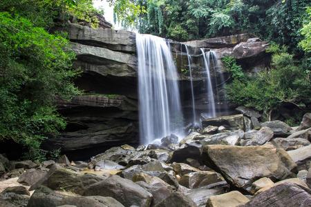 Beautiful small waterfall Thailand photo
