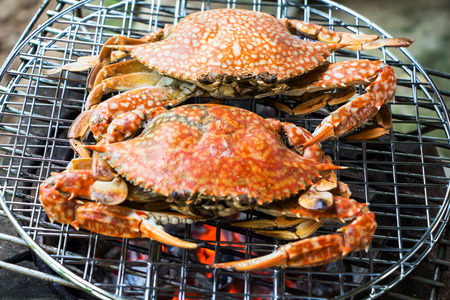 grill crab photo