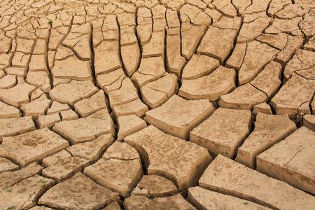 splitting: Cracked earth Stock Photo