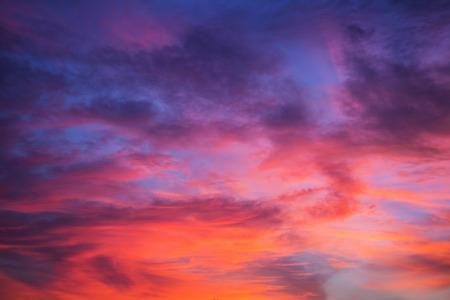 purple sky background