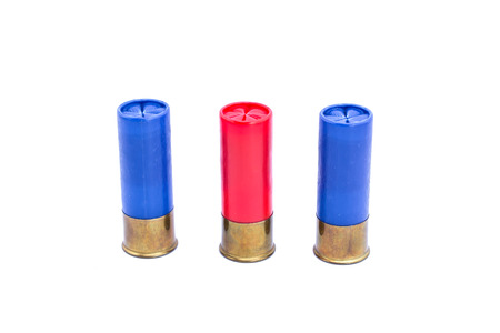 shotgun: shotgun shell Stock Photo