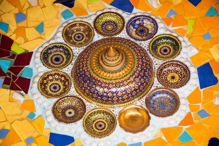 Art on ceramics photo