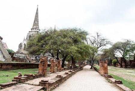 Phrasisanpetch temple in the Ayutthaya Historical Park Ayutthaya Thailand. photo