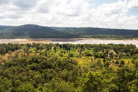kong river: View of Kong river Thailand