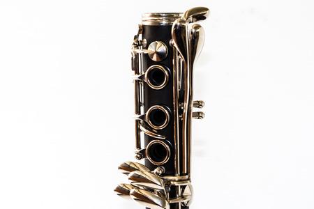 clarinete: Parte de clarinete Foto de archivo