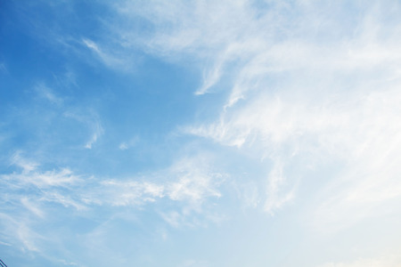 atmosphere: blue sky background
