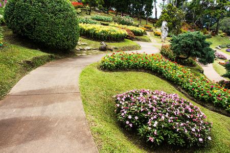 royals: Thai garden at Doi Thung Thailand