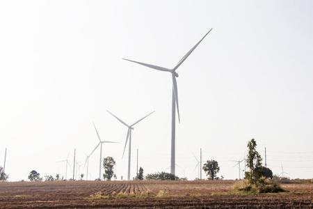 タイの風力タービン