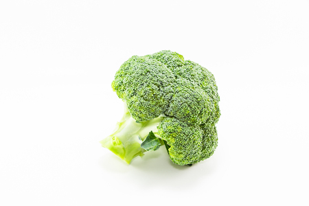 brocolli: brocolli on white background