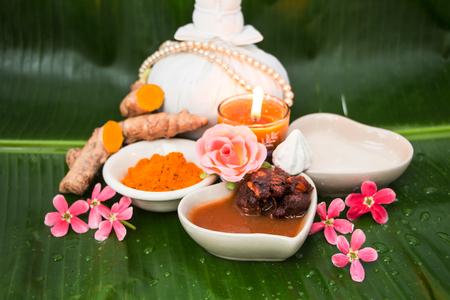 Tamarid Thai herb for spa
