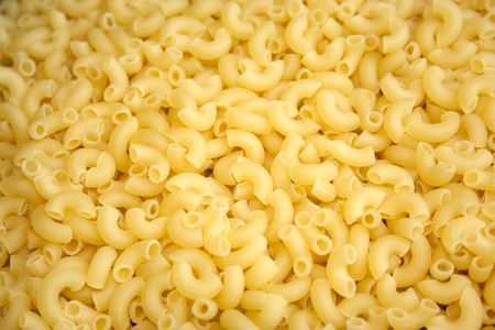 Pasta can be used like a background Stock Photo