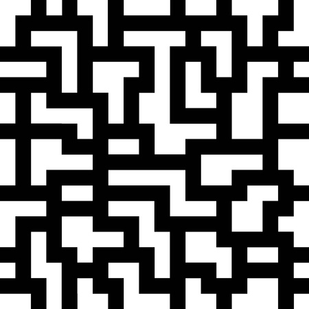 Seamless maze pattern. Vector illustration EPS8 Vector