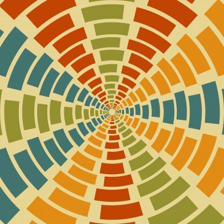 Geometrical retro  abstract background Illustration
