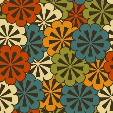 Seamless floral vector Stock Vector - 19548270
