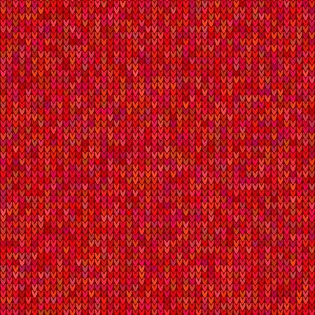 Rode gebreide trui naadloze patroon