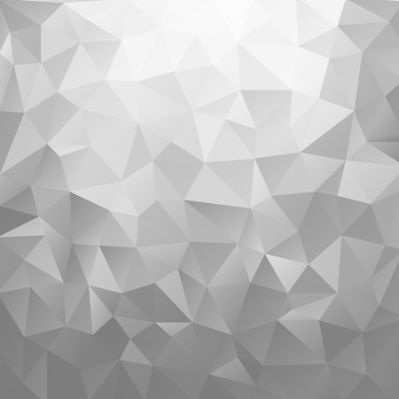 silver background: Abstract silver shiny background. Geometric vector illustration