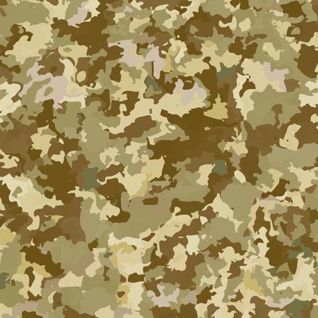 Camouflage military background. Abstract pattern. Vector illustration. Ilustração