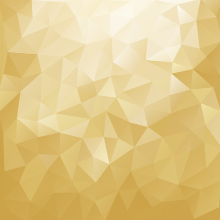 gold colour: Abstract colorful shiny background. Geometric vector illustration
