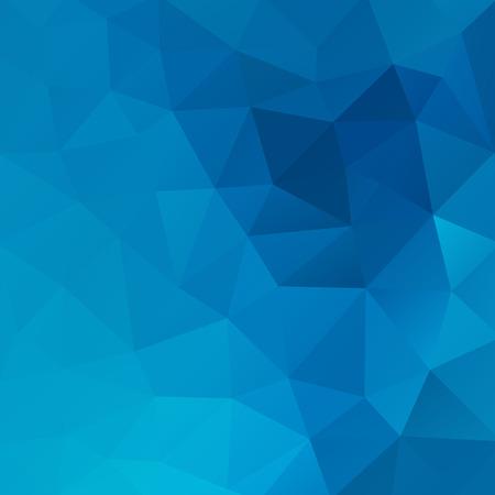 azul: Fondo triangular geométrica.