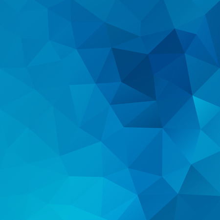 blue vintage background: Geometrical triangular background. Illustration