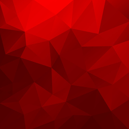 red wallpaper: Geometrical triangular background.
