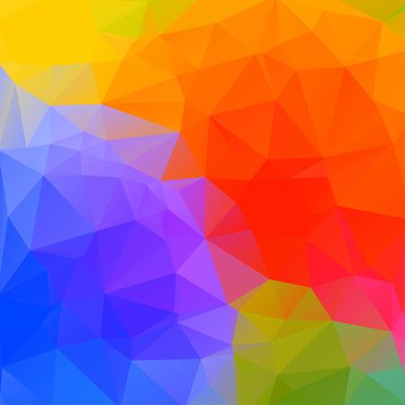 Geometrical triangular background.