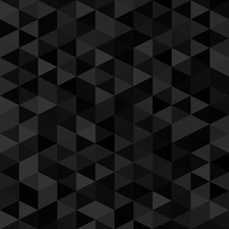 Seamless black geometrical background. vector illustration EPS8