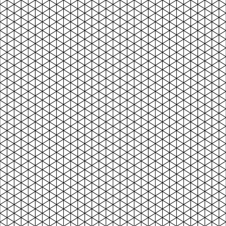 Vector Isometric grid for your design. Seamless geometric pattern for your design of textile, fabric, wallpaper, cover, wrapping, card, banner, brochure, banner, poster, print Illustration