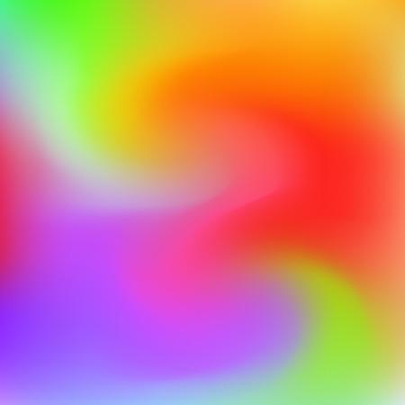 Vector abstract rainbow liquid colorful vibrant background. Creative deign. Vector graphics Stock Illustratie