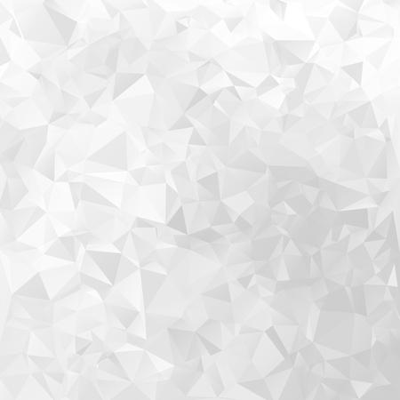 Witte geometrische vector achtergrond driehoekig ontwerppatroon