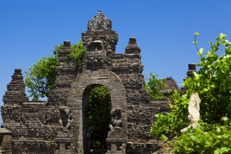 Uluwatu Temple in Bali Indonesia photo
